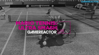 Mario Tennis Ultra Smash - Replica Livestream