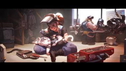 Overwatch - Brigitte: Le origini Trailer