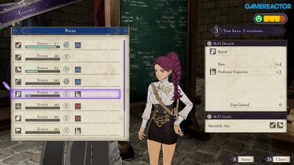 Fire Emblem: Three Houses - Instructor Lessons Gameplay
