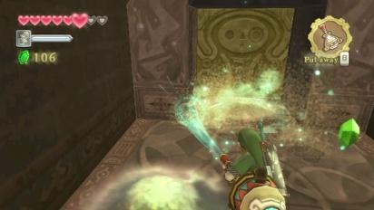 The Legend of Zelda: Skyward Sword - Lanayru Mining Facility gameplay