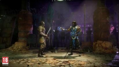 Mortal Kombat 11 - Kabal Reveal (italiano)
