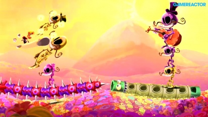 Rayman Legends - Fiesta de los Muertos - Mariachi Madness Gameplay