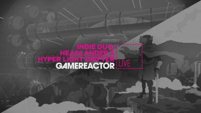 Indie Duo: Headlander & Hyper Light Drifter - Replica Livestream