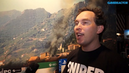 Sniper Elite 4 - Intervista a Chris Payton