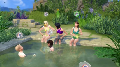The Sims 4: Get Together - Official Clubs Gameplay Trailer
