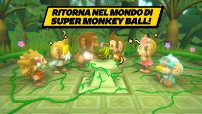 Super Monkey Ball: Banana Blitz HD - Trailer di annuncio (italiano)