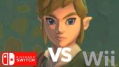 Zelda: Skyward Sword - Nintendo Switch vs Wii Graphics Comparison