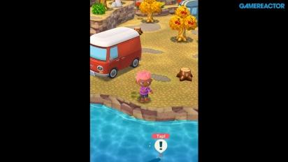 Animal Crossing: Pocket Camp - Pesca e raccolta oggetti - Gameplay