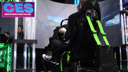 CES20 - Intervista Razer Eracing Simulator