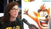 Crash Bandicoot: Nsane Trilogy - Intervista a Kara Massey