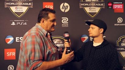 CWL Open Paris - Jay Puryear interview