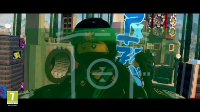 Lego Ninjago: Il Film Video Game - Trailer Di Annuncio