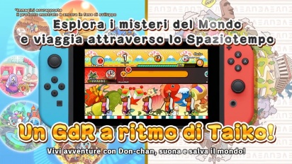 Taiko No Tatsujin: Rhythmic Adventure Pack - Trailer di lancio (italiano)