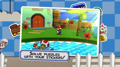 Paper Mario: Sticker Star - Story Trailer