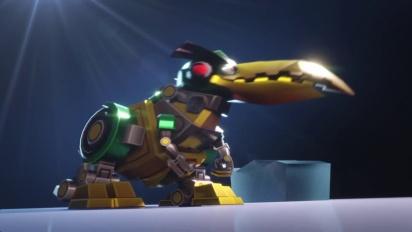 Angry Birds Transformers - Hal as Grimlock Trailer