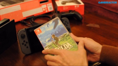 The Legend of Zelda Breath of the Wild per Nintendo Switch - Il nostro unboxing (inglese)