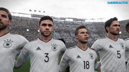 PES 2018 - Gameplay Demo Argentina vs Germania