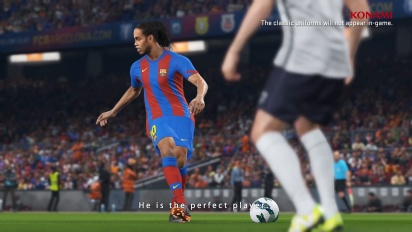 PES 2018 - FC Barcelona Legends - Ronaldinho Trailer