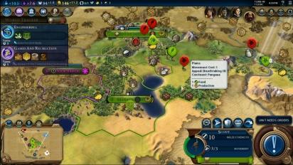 Civilization VI - Devs Play as Brazil