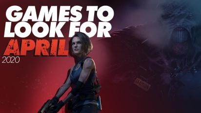 Giochi da tenere d'occhio - Aprile 2020