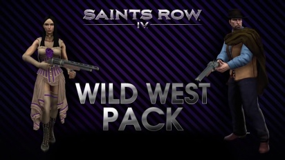 Saints Row IV - Wild West Pack DLC Trailer