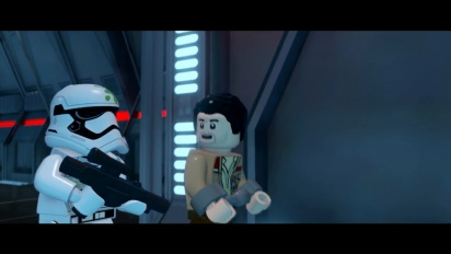 Lego Star Wars: The Force Awakens - Poe Character Vignette