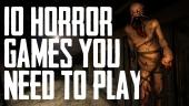 10 giochi horror di questa generazione da non perdere