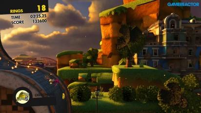 Sonic Forces - Personalizzazione del personaggio gameplay (Nintendo Switch)