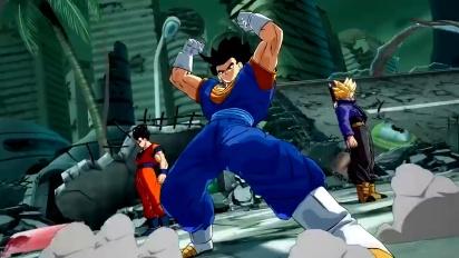 Dragon Ball FighterZ - Super Saiyan Blue Vegito Trailer