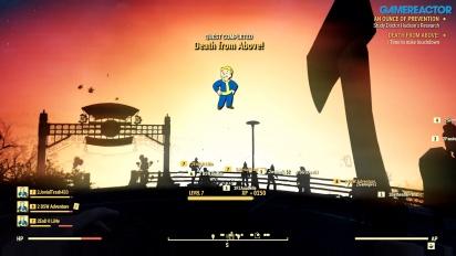 Fallout 76 - Le armi nucleari (gameplay)