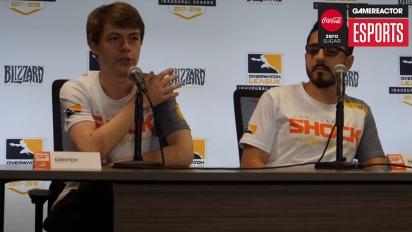 Overwatch League – Conferenza stampa dei San Francisco Shock  (Giorno 1)