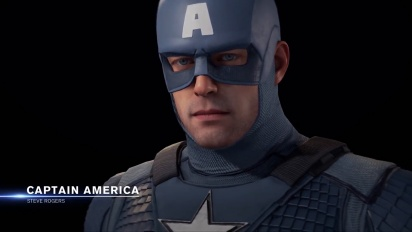 Marvel's Avengers - Captain America's Secret Empire Outfit Reveal