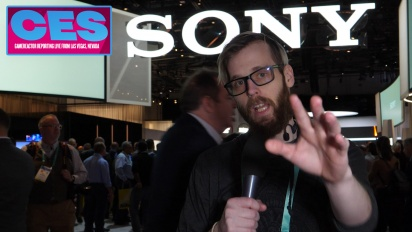 CES20 - Sony Booth Tour