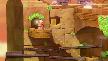 Captain Toad: Treasure Tracker: Toad will not Track Treasure alone! Trailer