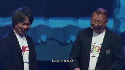Super Mario Maker - Miyamoto & Tezuka provano il Pac Mario Challenge di Michel Ancel