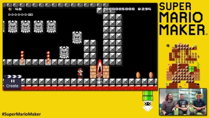 Super Mario Maker - Bob Bombstacle - Livello dei Playtonic Games