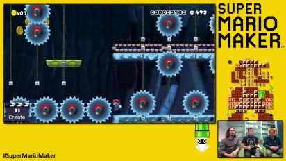 Super Mario Maker - Buzzthrill - Livello dei Playtonic Games