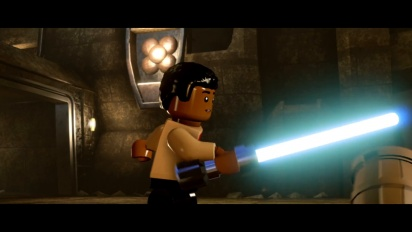 Lego Star Wars: The Force Awakens - Finn Character Vignette