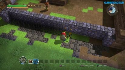 Dragon Quest Builders - Gameplay sulla costruzione