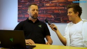 Razer Blade - Thomas Nielsen Dreamhack interview