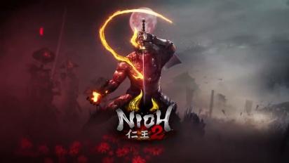 Nioh 2 - Release Date Reveal Trailer