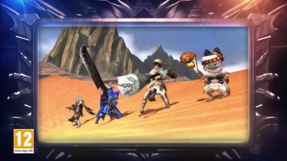 Monster Hunter Generations - Trailer d'annuncio