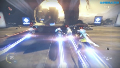 Destiny - Sparrow Racing su Shining Lands