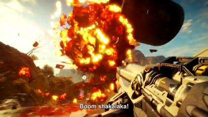 Rage 2 - Ha il fuoco dentro Trailer