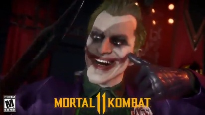 Mortal Kombat 11 - Joker Mirror Match Intro