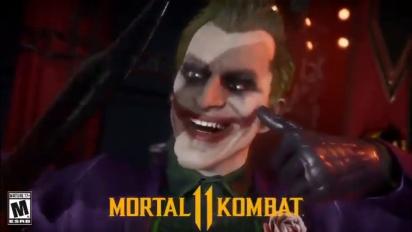 Mortal Kombat 11 - Joker Mirror Match Intro