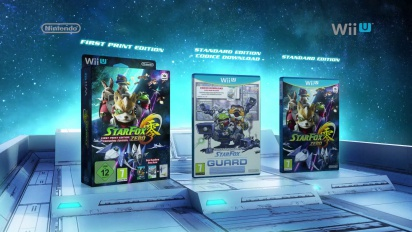 Star Fox Zero e Star Fox Guard - First Print Edition