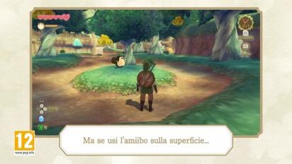 The Legend of Zelda: Skyward Sword HD - Amiibo di Zelda e solcanubi Trailer (italiano)