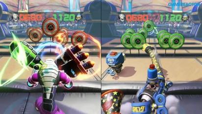 Arms - Gameplay della Modalità Skillshots