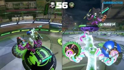 Arms - Gameplay combattimento 1v1 con i nuovi personaggi